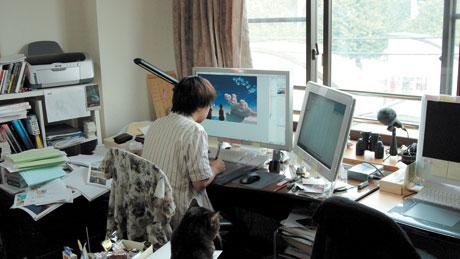 Copyright Makoto Shinkai