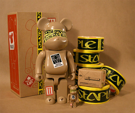 "STPL ""Box"" Be@rbrick"