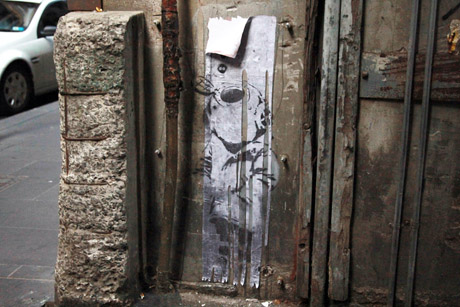 The Return of Banksy's 'Little Diver'