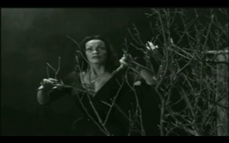 Vampira as the lady vampire