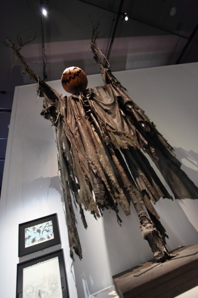 Scarecrows are one of Burton's favourite motifs.