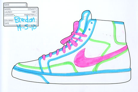 Nike Dynasty, 1991 by Brendan