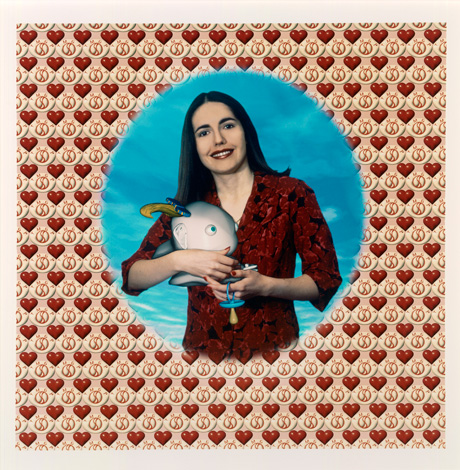 Patricia Piccinini born Sierra Leone 1965, lived in Italy 1968–72, arrived Australia 1972 First satisfied customer from The mutant genome project, 1994– (1995) type C photograph 79.6 x 80.0 cm National Gallery of Victoria, Melbourne Presented by Michaels Camera and Video on the occasion of the inaugural Still Photography conference, 1995 © Patricia Piccinini
