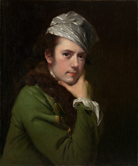 Joseph Wright of Derby England 1734–97, lived in Italy 1773–75 Self-portrait (c. 1770) oil on canvas 71.1 x 60.9 cm National Gallery of Victoria, Melbourne Gift of Alina Cade in memory of her husband Joseph Wright Cade, 2009 (2009.563)