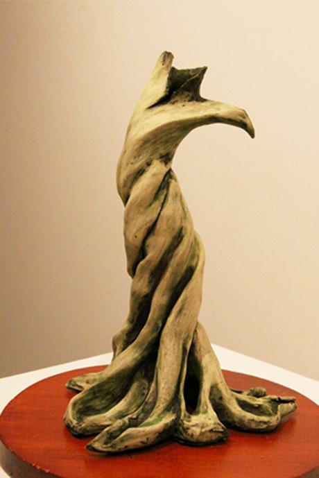 Elzunia Rejmer sculpture