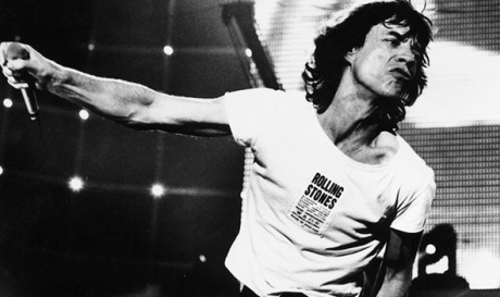 Mick Jagger photo copyright Tony Mott