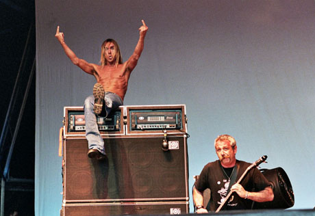 Iggy and The Stooges  - Big Day Out 2006 photo copyright Tony Mott
