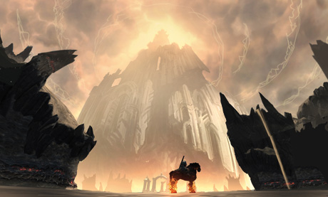 War on Run in Ashlands, Darksiders