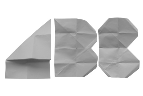A,B,C. Vladimir Tomin's folded paper type