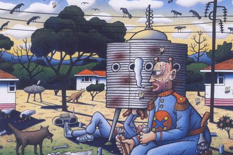 Reg Mombassa Artist/musician - Sydney