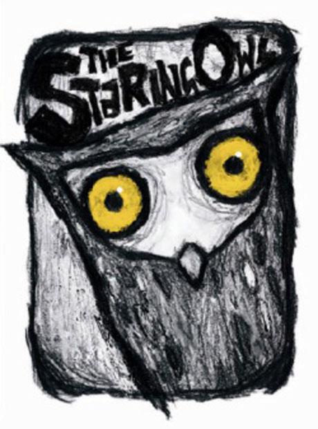 The Staring Owl (Omnibus Books) designed by Luke Edwards.