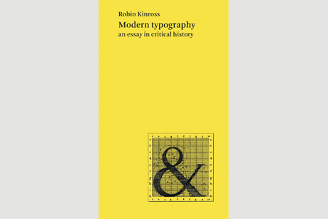 critical essay history in modern typography The book modern typography was designed by françoise berserik, the hague, and typeset by teus de jong first edition 1992 pictured is a (well-used) reprint of the.