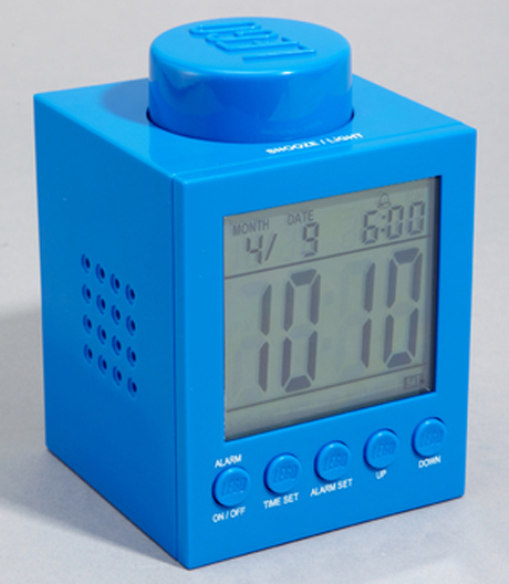 lego alarm clock desktop. Black Bedroom Furniture Sets. Home Design Ideas